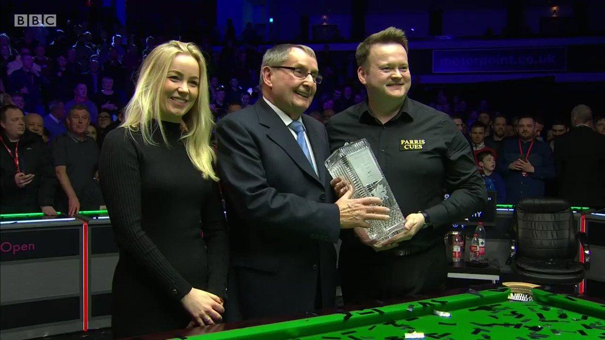 👏 A deserved winner Shaun Murphy!#bbcsnooker