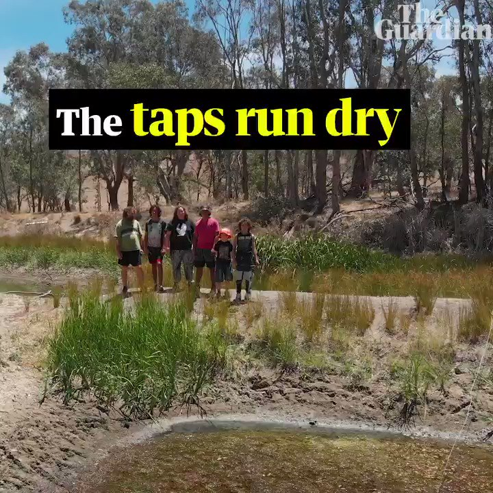 Inside Australia's climate emergency: what happens when the taps run dry? Watch part two of #TheFrontline now https://www.theguardian.com/environment/ng-interactive/2020/feb/17/a-climate-emergency-what-happens-when-the-taps-run-dry…