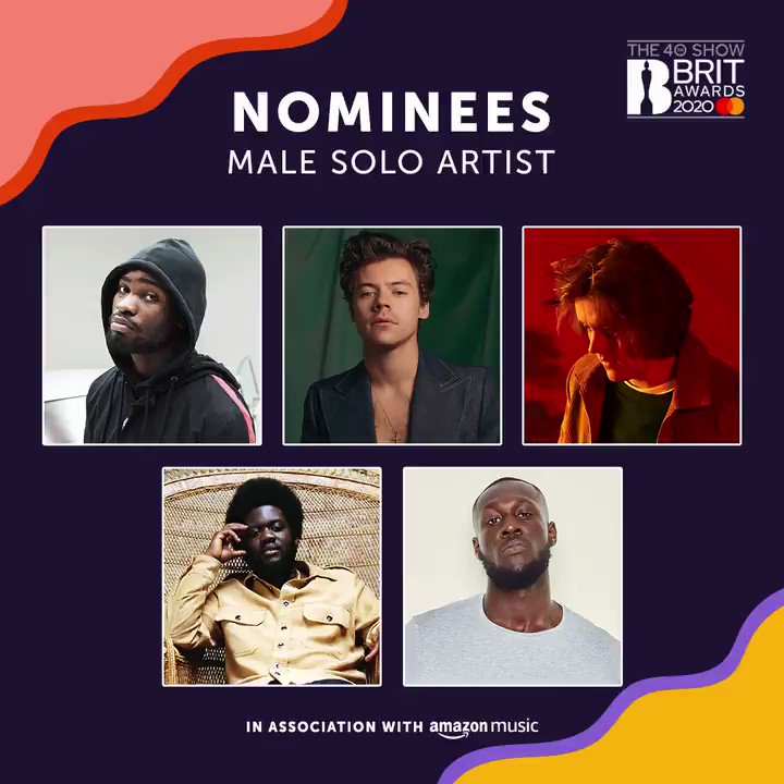 Huge luck to all of our members nominated for a BRIT Award tonight:  🤞@mahalia  🤞@Mabel  🤞@CalvinHarris  🤞@edsheeran  🤞@OfficialAitch  #Brits2020 #BRITs #BRITsAT40