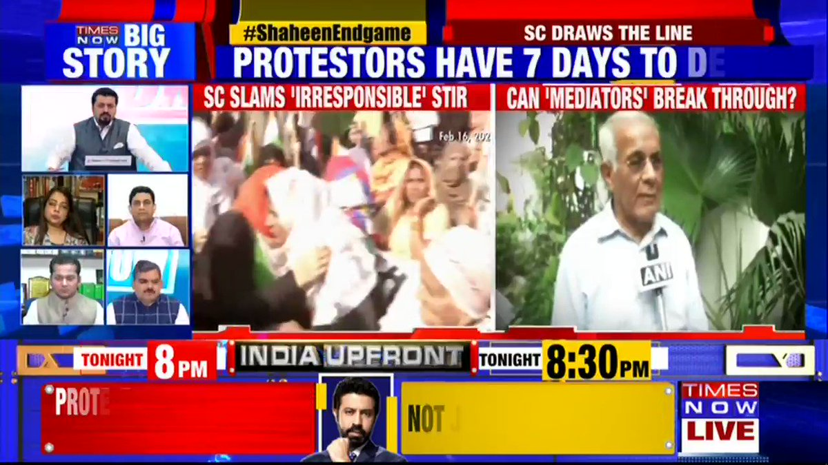 This is a 'New India' where every decision comes from the Court: @SubharanshRai, Political Analyst tells TIMES NOW. | #ShaheenEndGame