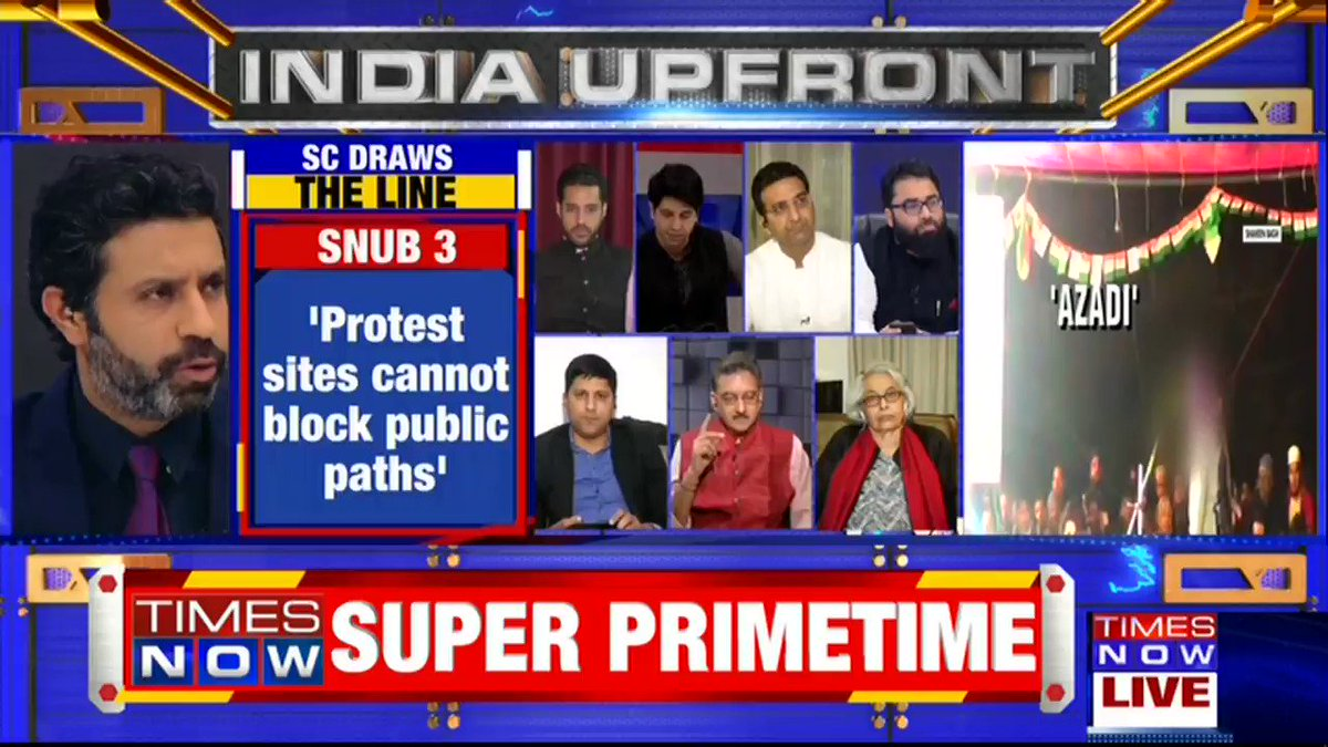 Constitution gives the right to protest, but one can't raise inciting statements while protesting: @gauravbh, National Spokesperson, BJP tells Rahul Shivshankar on INDIA UPFRONT. | #ShaheenEndgame