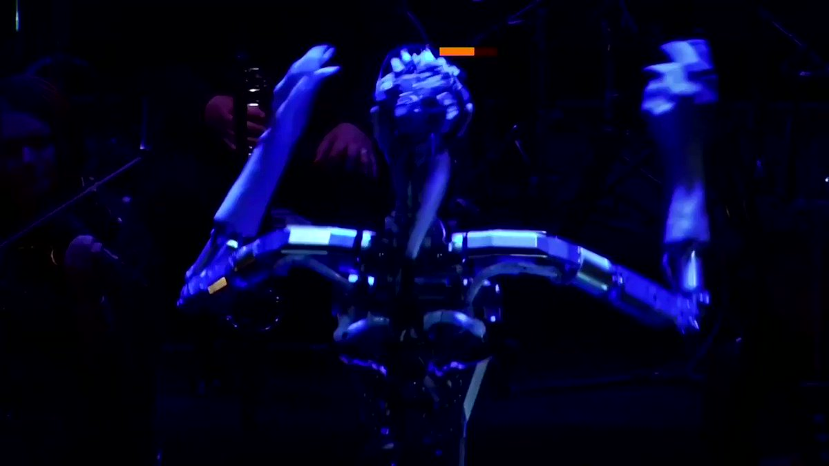 Meet 'Android Alter 3,' a robot conducting a human orchestra