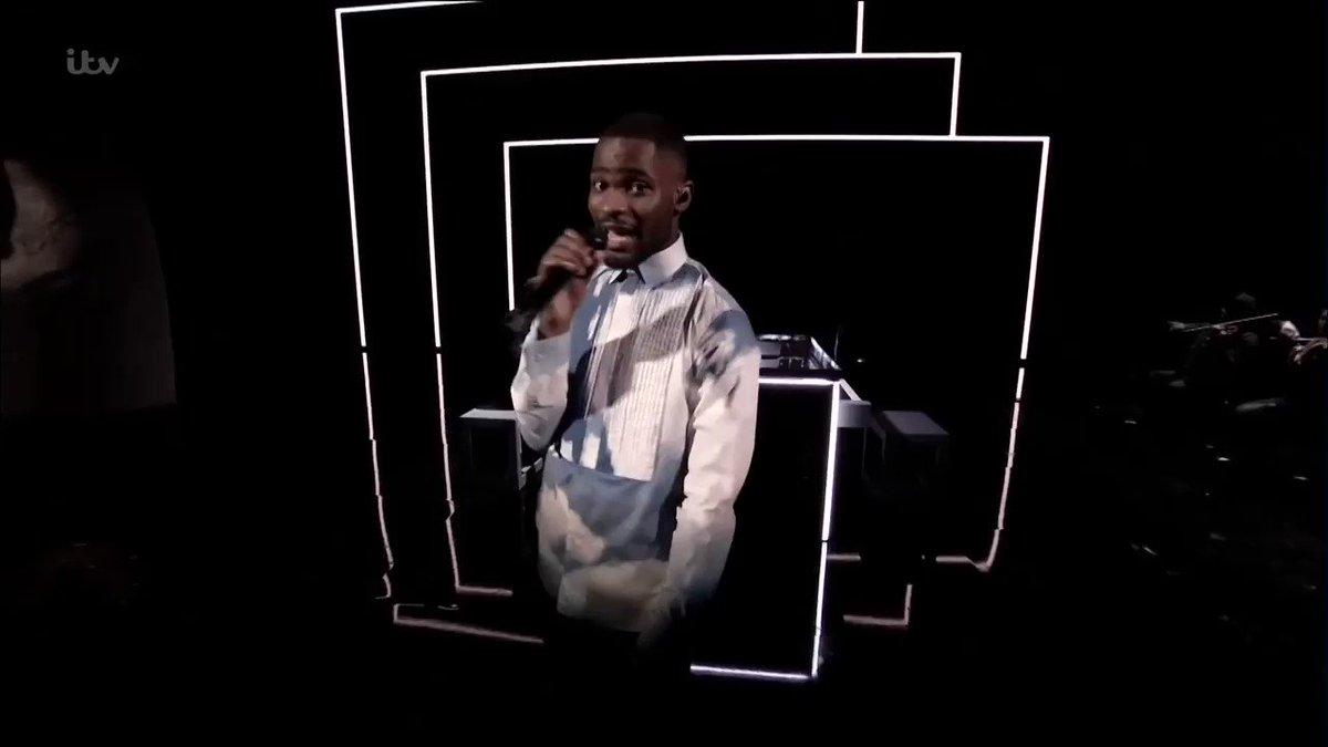 .@Santandave1 had got something to say. This man is one of a kind. #BRITs2020