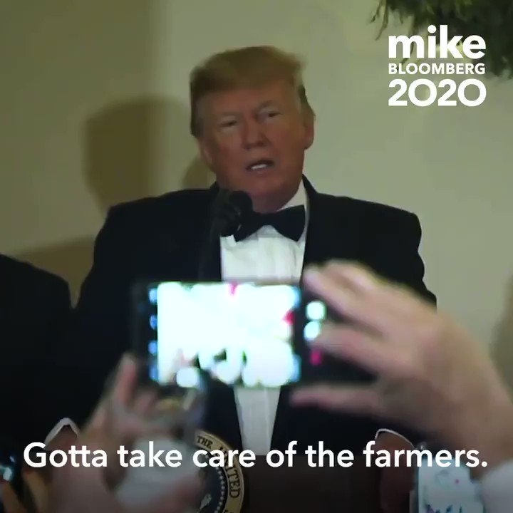 Trump's team is spreading an edited video of Mike referring to farming practices from 3,000 years ago in order to distract from Trump's own record with farmers.   Spoiler alert: Trump's record with farmers ain't great.