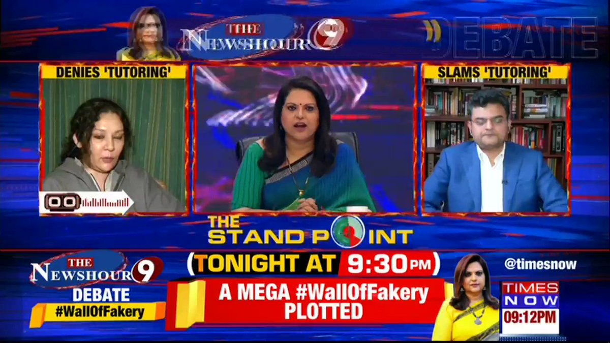 The Shaheen bagh mediation process has turned into a complete farce, especially after the involvement of Teesta Setalvad - the Magna Carta of lies and fraud.My view on @TimesNowwith @navikakumar. #TeestaTutorsShaheen