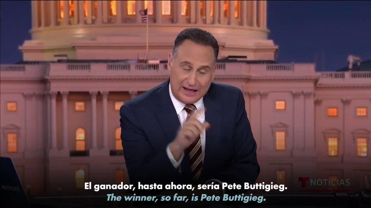 ¿Quién es @PeteButtigieg?  Es un alcalde. Un veterano. Un esposo.  Se pronuncia Bút-Ech-Ech Y será el próximo presidente de los Estados Unidos.