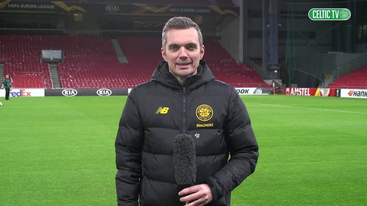 📌 Telia Parken Stadium, Copenhagen. @gerrymcculloch1 previews #CelticFCs @EuropaLeague Round of 32 first leg! #COPCEL Live audio of the match on @CelticTV from 5:45pm CPT tomorrow. Full match replay from 11pm on celticfc.tv 🇩🇰🍀 #UEL