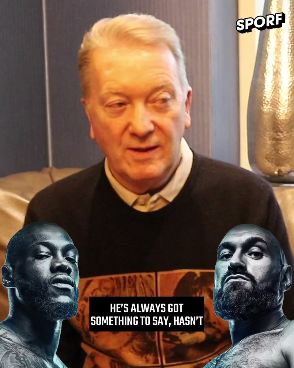 ✅ Picked @Tyson_Fury to win. 🙅♂️ Changed his mind after hearing a few things about camp. 👀 @FrankWarren_TV comments on @EddieHearns speculation. 🥊 @BTSportBoxing #FuryWilder2