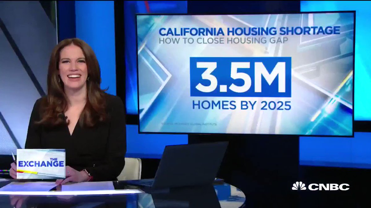 """The housing crisis playing out in the #BayArea is a microcosm of the greater issues gripping the country. @ConorDougherty joins @KellyCNBC to talk about housing in America and his new book """"Golden Gates: Fighting for Housing in America."""""""