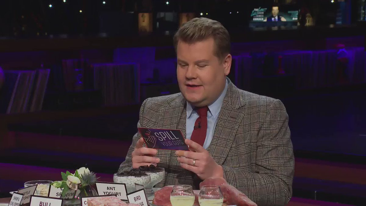 Replying to @latelateshow: in @JustinBieber's defense he would have had to eat a bull penis...  #LateLateBieber