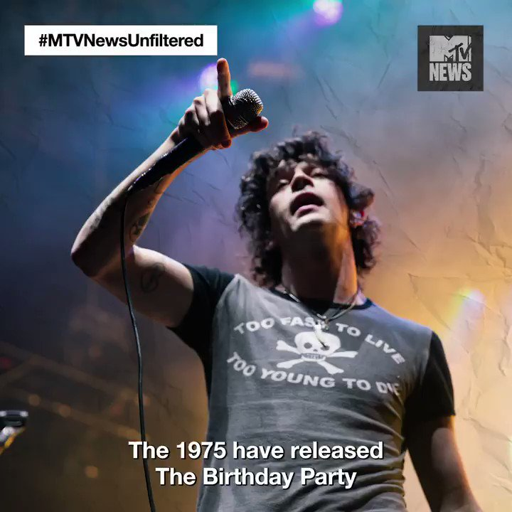 want to feature on a new @the1975 track? send @truman_black your mean tweets #mtvnewsunfiltered #newmusicfriday