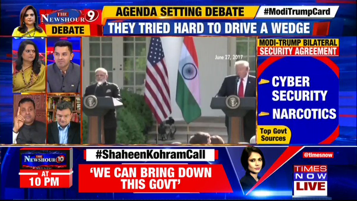 Ind-U.S trade has surged from $16 bn in 1999 to $142 bn now. It is more than French-U.S trade: @ARanganathan72, Author tells Navika Kumar on @thenewshour. | #ModiTrumpSummit
