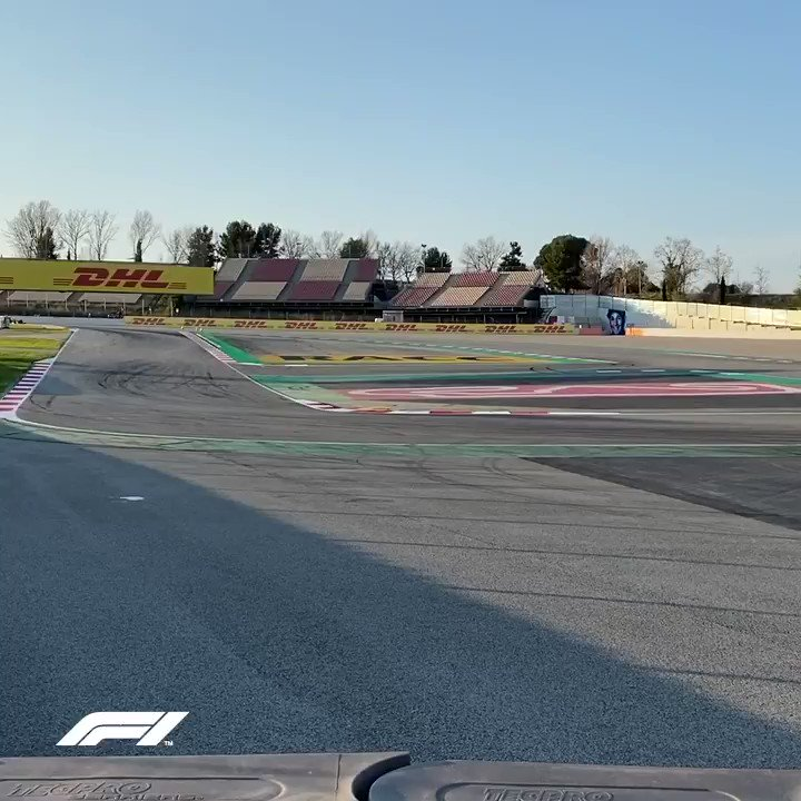 The continuing adventures of @danielricciardo 😮  #F1Testing