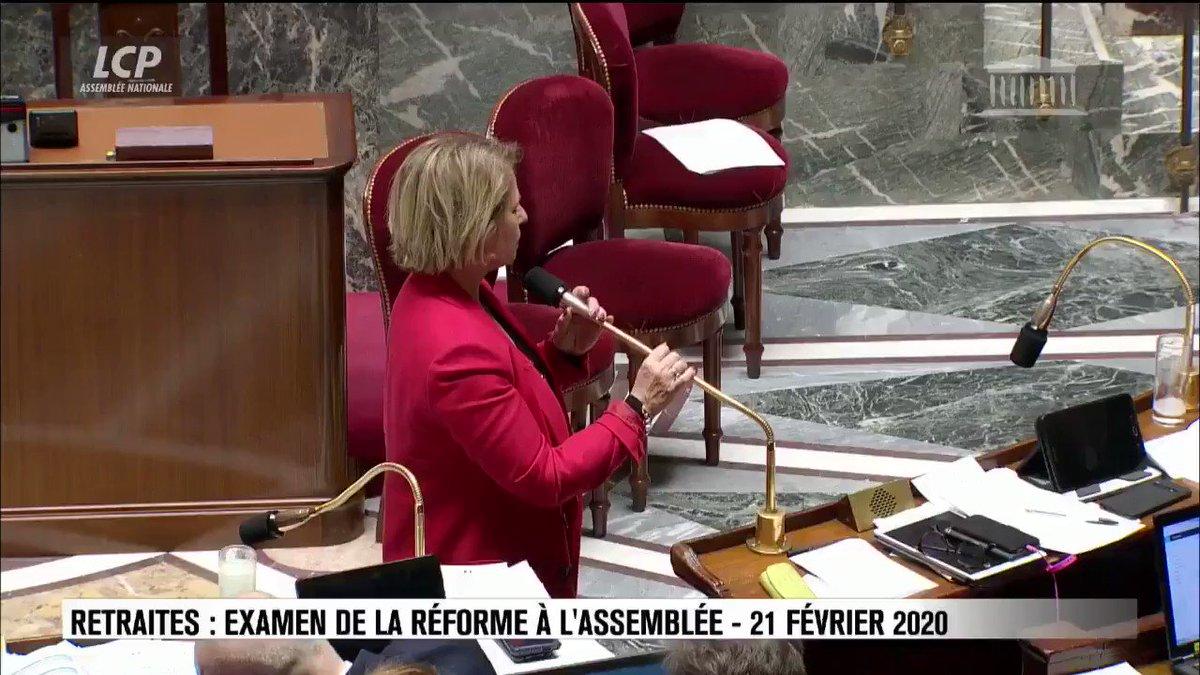 Image for the Tweet beginning: Rappel utile de la présidente
