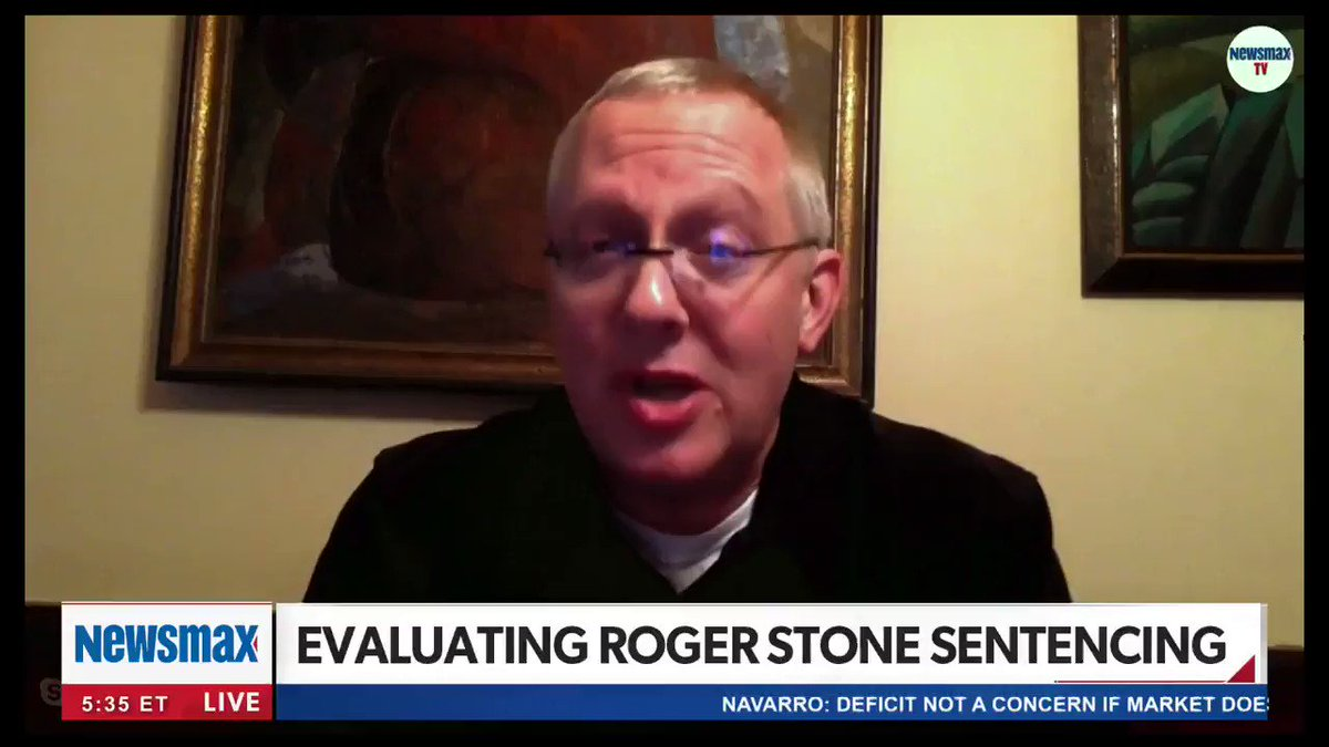 It is all the grounds that is necessary for a new trial. Longtime Roger Stone confidant @MichaelRCaputo speaks out regarding Stones sentencing: In the end this looks like a recipe that says Roger, one way or another, could stay out of jail. nws.mx/tv