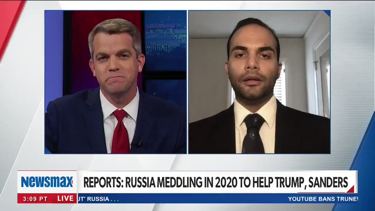 There has not been a president more tough on Russia than @realDonaldTrump, @GeorgePapa19 tells Newsmax TVs @JohnFBachman. The last thing the Russians want is a pro-oil and natural gas president. nws.mx/tv