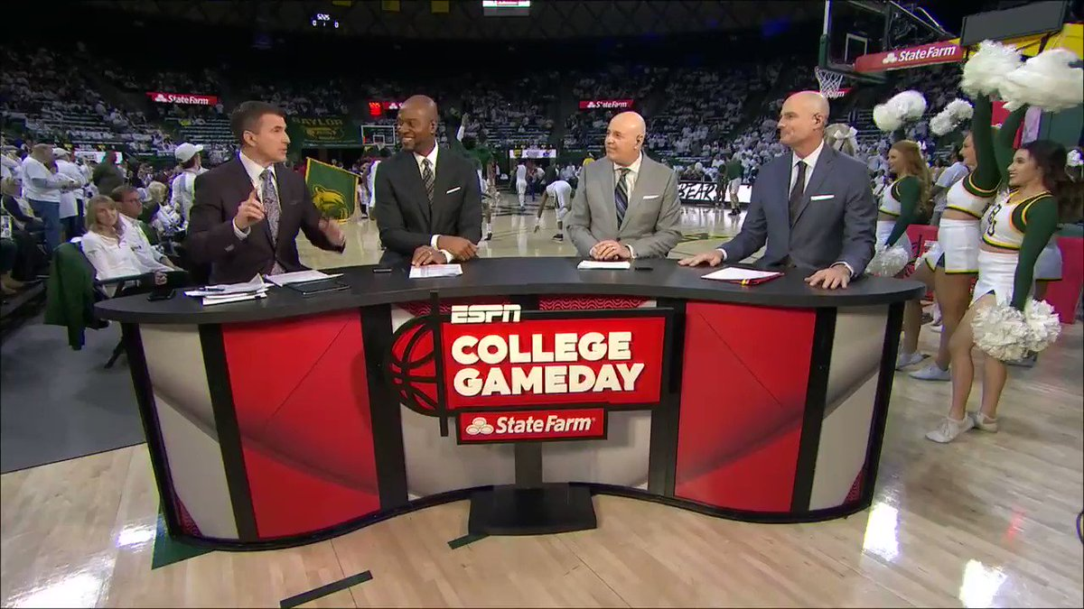 "'This is the biggest game of the day, maybe the biggest game of the year."" —Seth Greenberg on Kansas vs. Baylor"