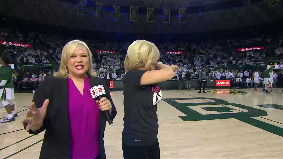 Kim Mulkey reached 600 career wins earlier this week. She joined @sportsiren ahead of Kansas vs. Baylor.