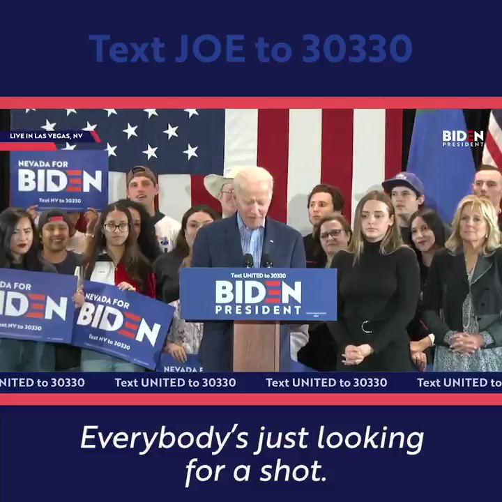 Americans aren't looking for a handout. They're just looking for a fair shot to get ahead. But too many people today aren't getting that chance.  We have to rebuild the middle class — and this time, bring everyone along.