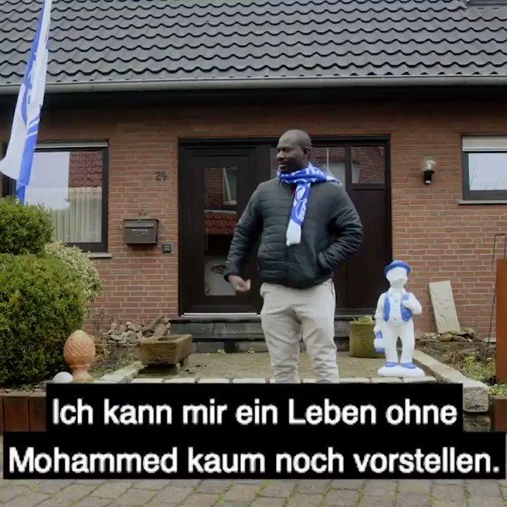 Heinz und Mohammed verbindet nicht nur die Leidenschaft zum #S04, sondern auch eine ganz besondere Freundschaft 🤝  Die ganze Geschichte gibt's auf dem @YouTube-Channel von @SchalkerLeben zu sehen 🔵📺⚪️