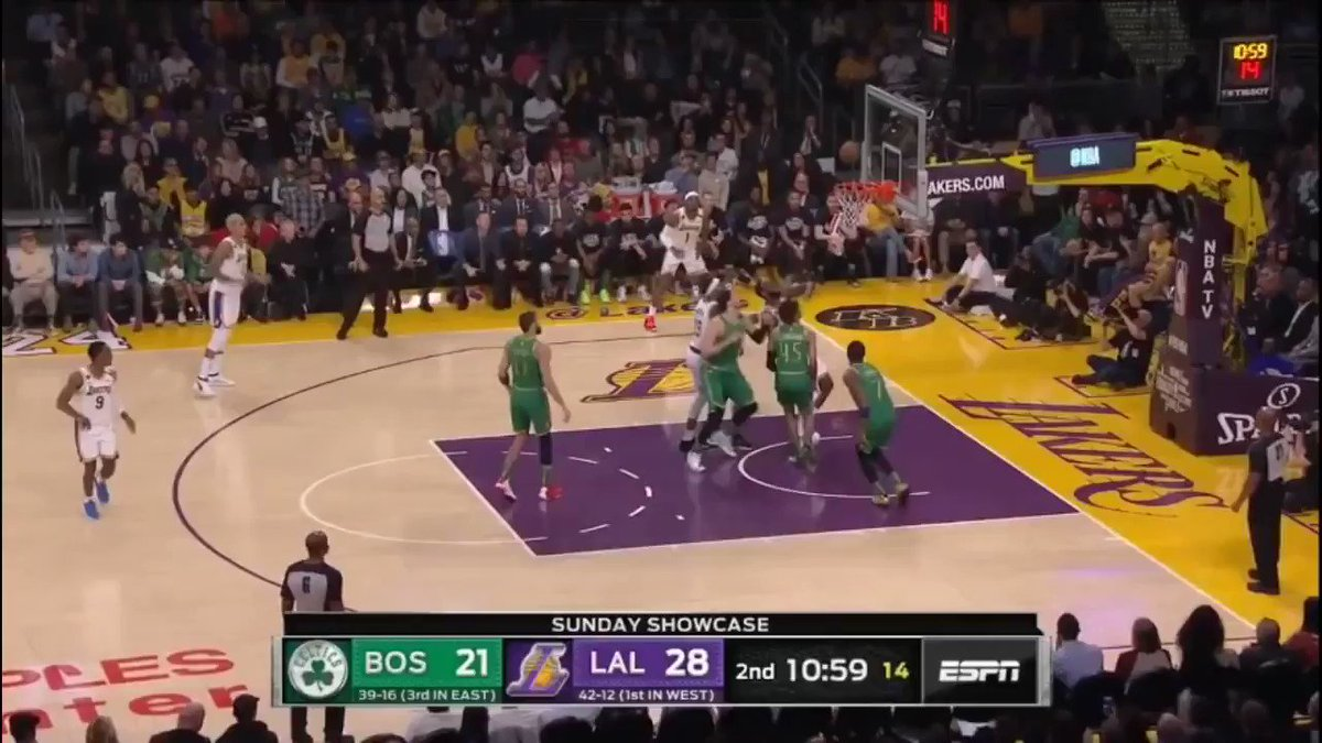 The refs were so bad during Celtics/Lakers that they got their own highlight reel