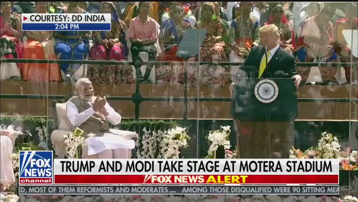 In America, and in India, we know that we are all born for a higher purpose, to reach toward our fullest potential, to work toward excellence and perfection and to give all glory to God. - President @realDonaldTrump #TrumpInIndia