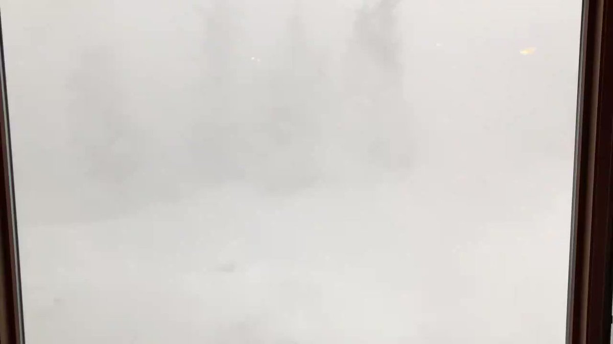 Earlier this week Whiteout Blizzard Conditions as Snow Squall Warnings were issued! Here was the scene from Breckenridge, Colorado!  Permission: Mike Williams | 02-24-2020 @WeatherBug - Download the app!   #COwx