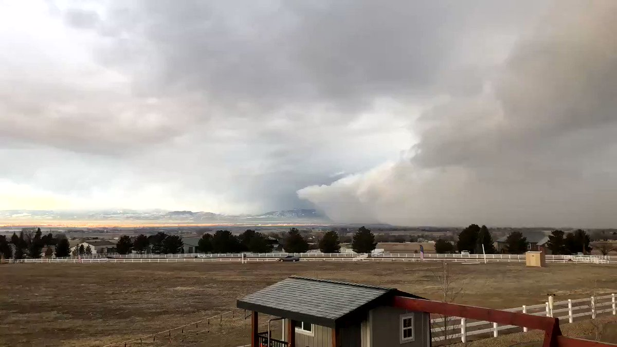 Soon it will be severe weather across Colorado plains. However for now here is a Snow Squall Timelapse from Severance, CO this week!  Permission: Blonde Mama | 02-24-2020 @WeatherBug - Download the app today!   #COwx