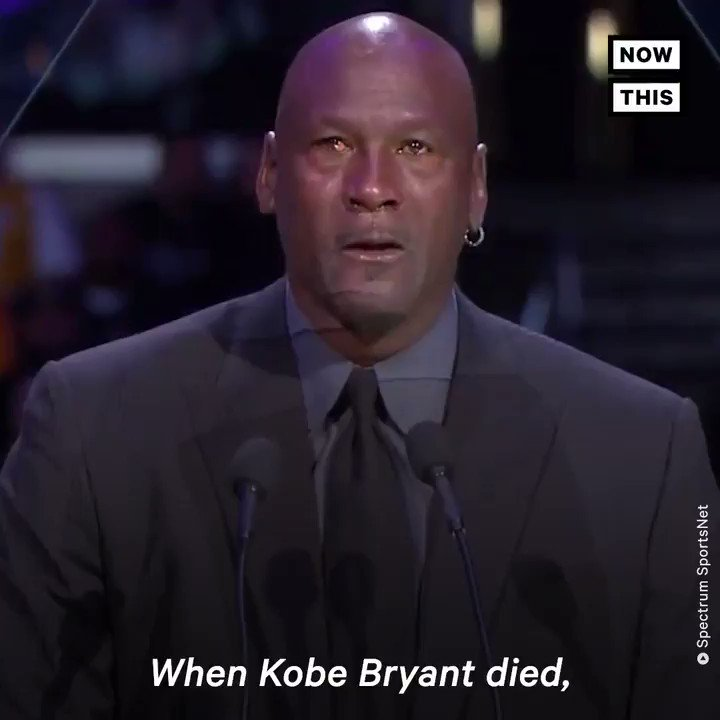 'When Kobe Bryant died, a piece of me died' — Michael Jordan teared up remembering his 'little bro'