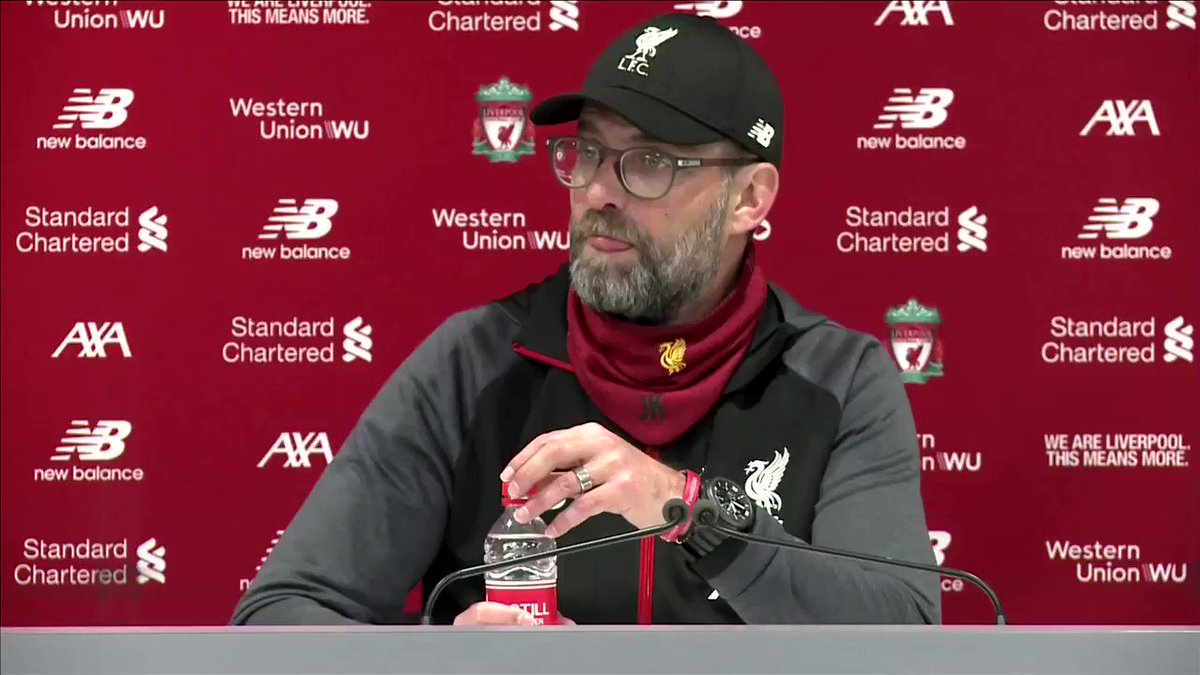 'The numbers are incredible': Juergen Klopp hails Liverpool's record-equaling run https://reut.rs/32nwdXW