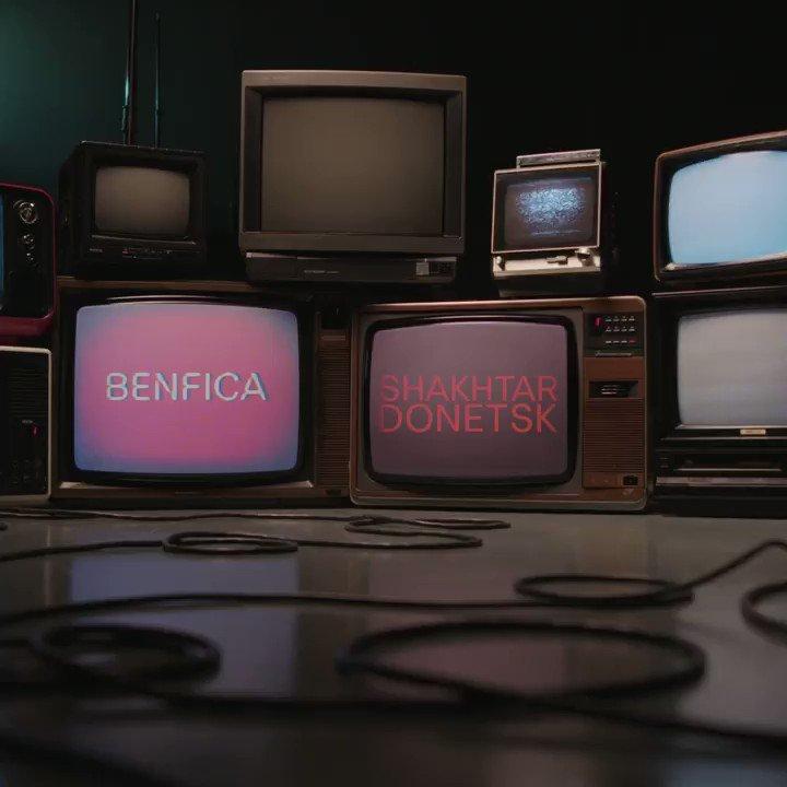 Benfica 🆚 Shakhtar Who ya got?#UEL