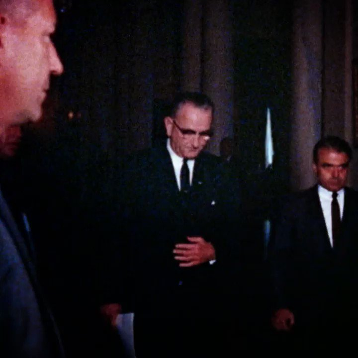 The Texas Democrat knew that by signing the Civil Rights Act of 1964, his party could lose the south forever. But it was a price he was willing to pay. Johnson vs. Goldwater on #RaceForWH, Sunday at 9p ET/PT on @CNN