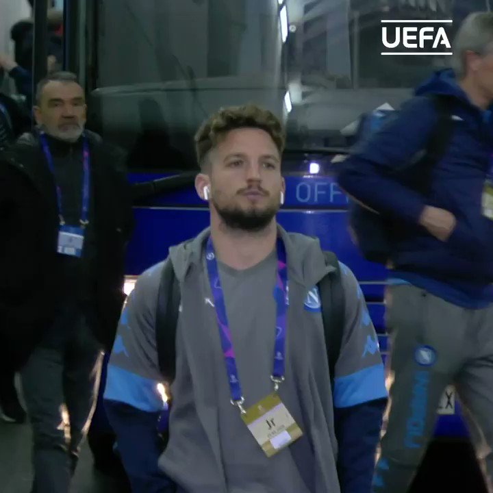 🔵  Dries Mertens has scored 120 goals for Napoli and is only one behind the club's all-time top scorer Marek Hamšík.#UCL | @sscnapoli