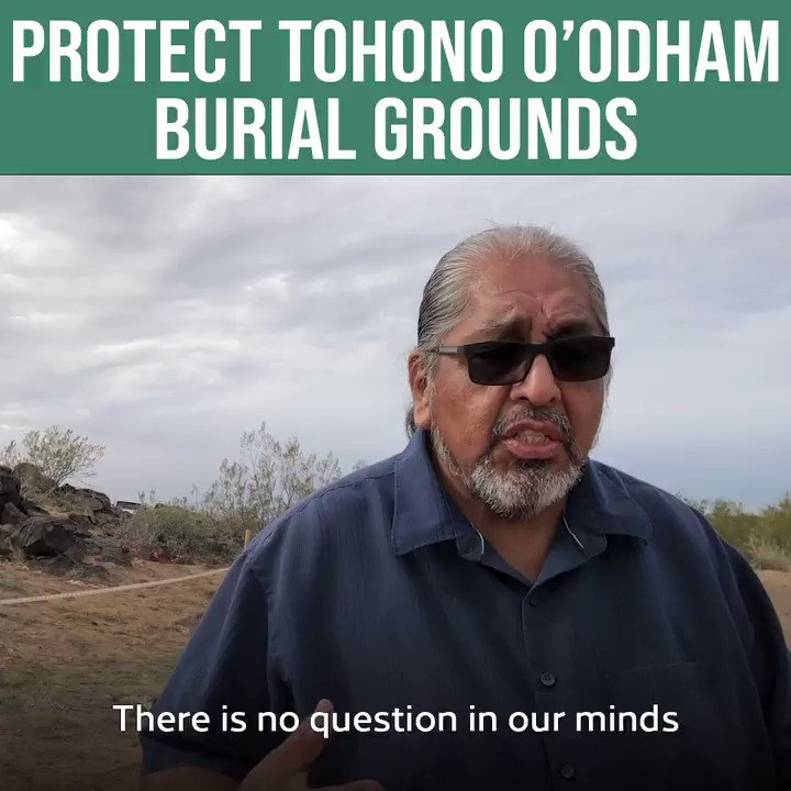 Today the Committee is holding a hearing on the cultural, historical & environmental destruction of the border wall in Native American communities. Listen to Tohono O'odham leaders whose land, history and culture Trump is destroying for his racist vanity project. #NoBorderWall