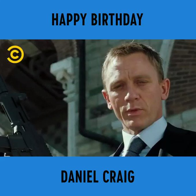 Happy Birthday Daniel Craig! Where does he rank amongst the best portrayals of Bond?
