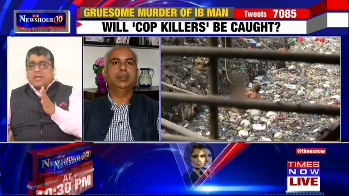 What is @DelhiPolice doing when the mother of the IB officer is running from one police station to another: @SubharanshRai, Political Analyst tells Padmaja Joshi on @thenewshour AGENDA. | #IndiaWantsAnswers