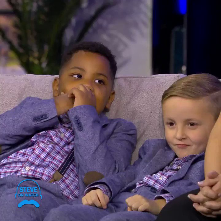 Image for the Tweet beginning: These two boys think they're