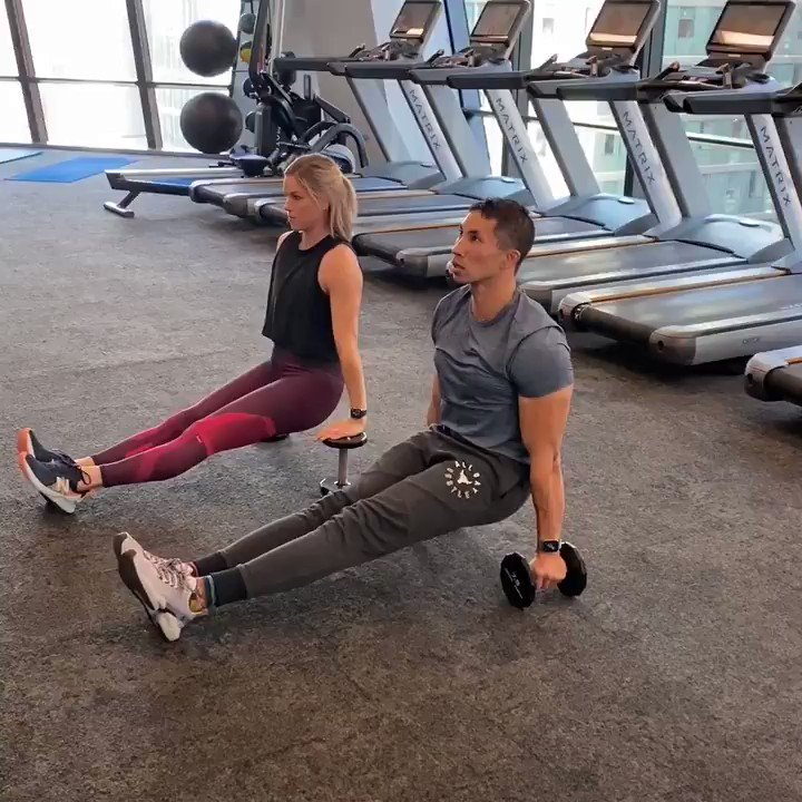 Image for the Tweet beginning: Try these alternating leg lifts