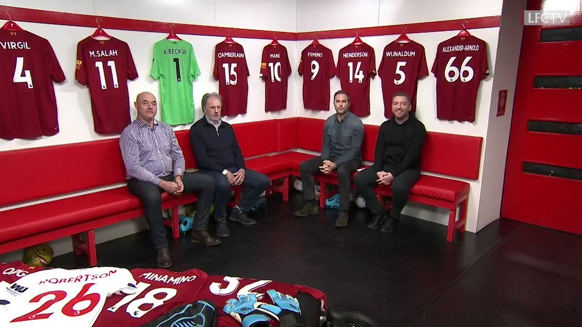 Who gets into the all-time #LFC team? 🤔🔴  Join Pete, Jason, Bruce and @MTLawrenson on this week's #LFC Later, tonight @ 21:00 GMT: http://video.liverpoolfc.com