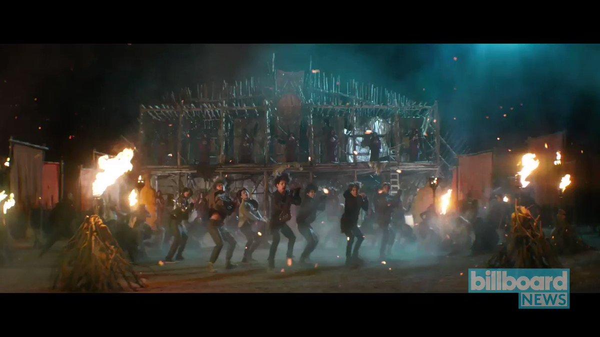 Billboard News: @BTS_twt has premiered a second music video for 'ON.' #BillboardNews
