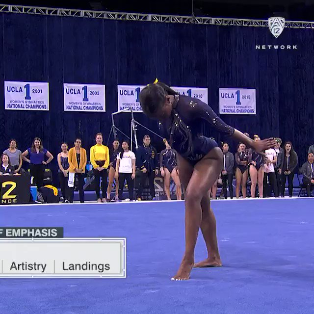 This UCLA Gymnast's All-Beyoncé Floor Routine Is Going Viral