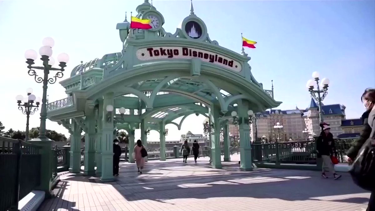 Tokyo Disneyland will remain closed from February 29 to March 15 due to concerns about coronavirus infections spreading in Japan https://reut.rs/2VvdiZS