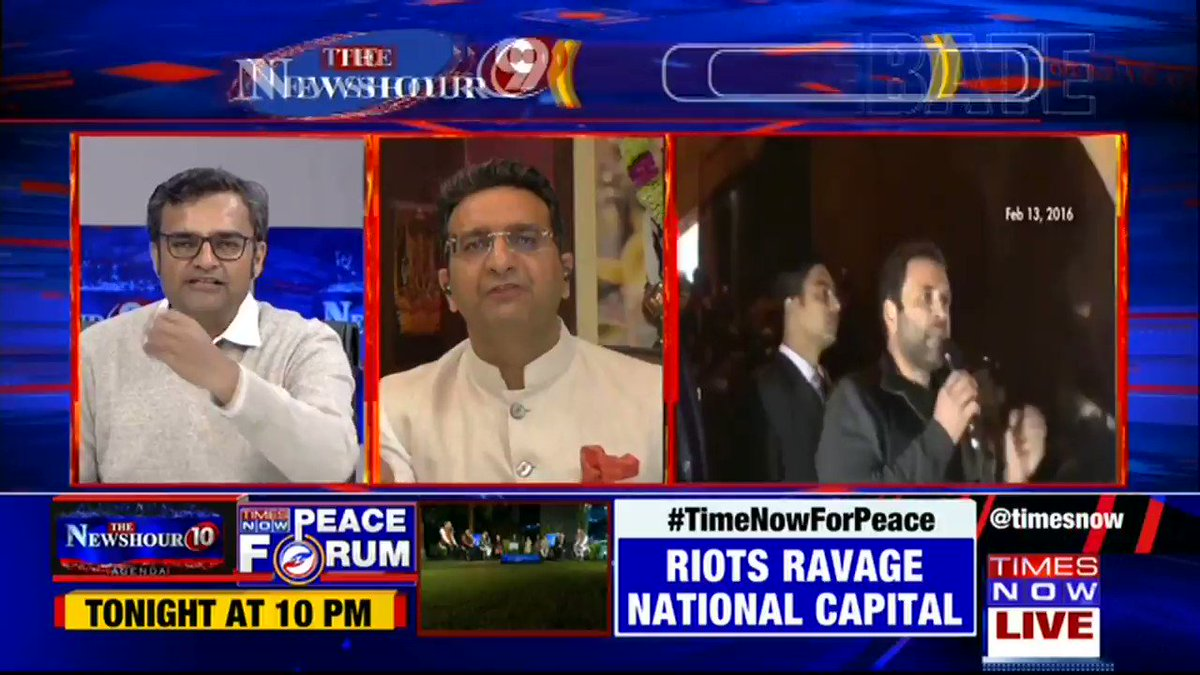 Watch: Madhavdas G concludes the debate on @thenewshour. | #TukdeOnTrial