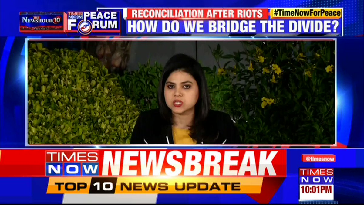 #TimeNowForPeace | TIMES NOW's Padmaja Joshi speaks to the people of North East Delhi after the Delhi violence. | @thenewshour AGENDA with Swati Joshi.