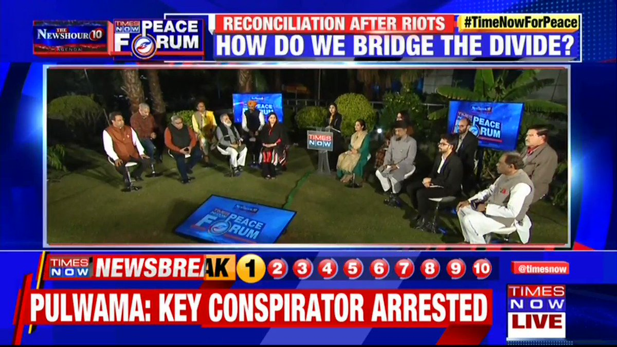 For an enduring reconciliation, there should be truth preceding it: Sushil Pandit (@neelakantha), Activist tells Swati Joshi on @thenewshour AGENDA. | #TimeNowForPeace