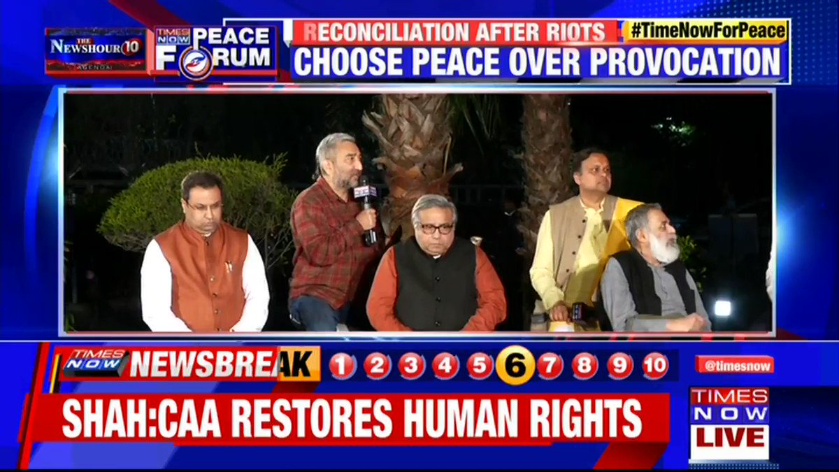 Such riots are the result of the political games: @mssirsa, National Spokesperson, SAD tells Swati Joshi on @thenewshour AGENDA. | #TimeNowForPeace
