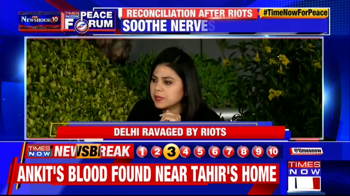 Community policing is important when we're pursuing justice: @AdvaitaKala, Author tells Swati Joshi on @thenewshour AGENDA. | #TimeNowForPeace