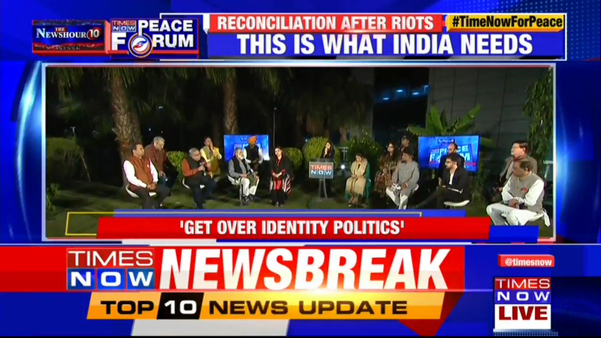 People will always ask for justice & I hope that the Govt. will listen to their voices: Suneet Chopra, Senior Leader, CPI(M) tells Swati Joshi on @thenewshour AGENDA. | #TimeNowForPeace
