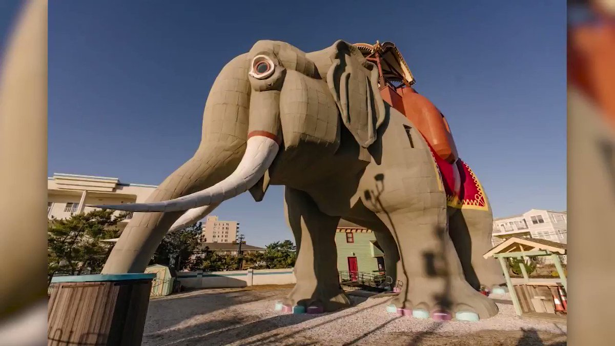 Lucy the Elephant, the New Jersey-based attraction whose claim to fame is being the world's largest elephant and the oldest roadside attraction in the United States, will soon open its doors to overnight guests for the first time in over 100 years. https://cnn.it/2TsqbRT