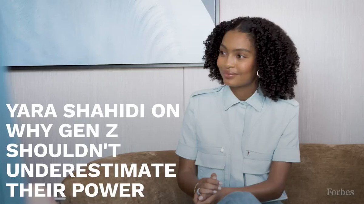 Model, actress and activist Yara Shahidi on why Gen Z shouldn't underestimate their power